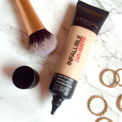 L'Oreal Infallible 24H-Matte Foundation Review | abibailey.co.uk